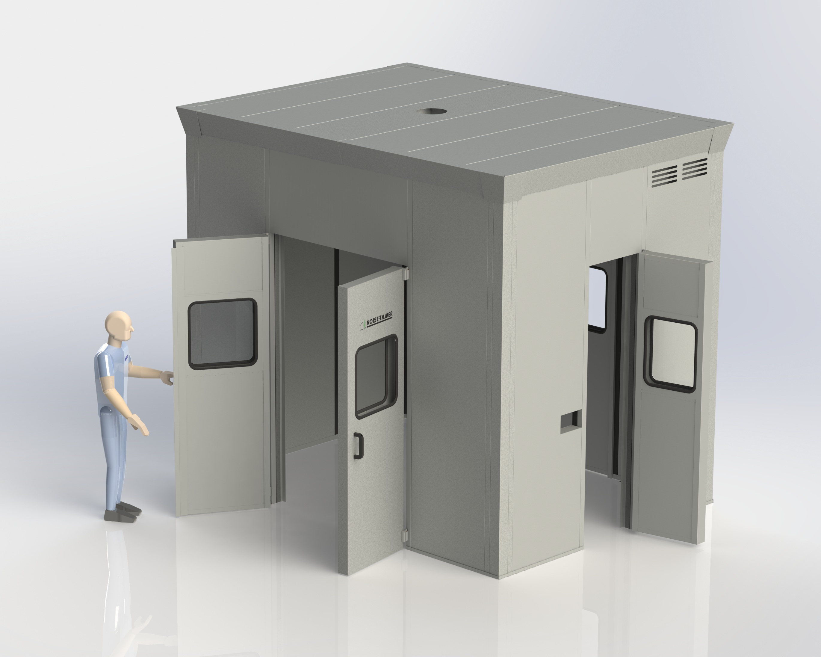 machine enclosure