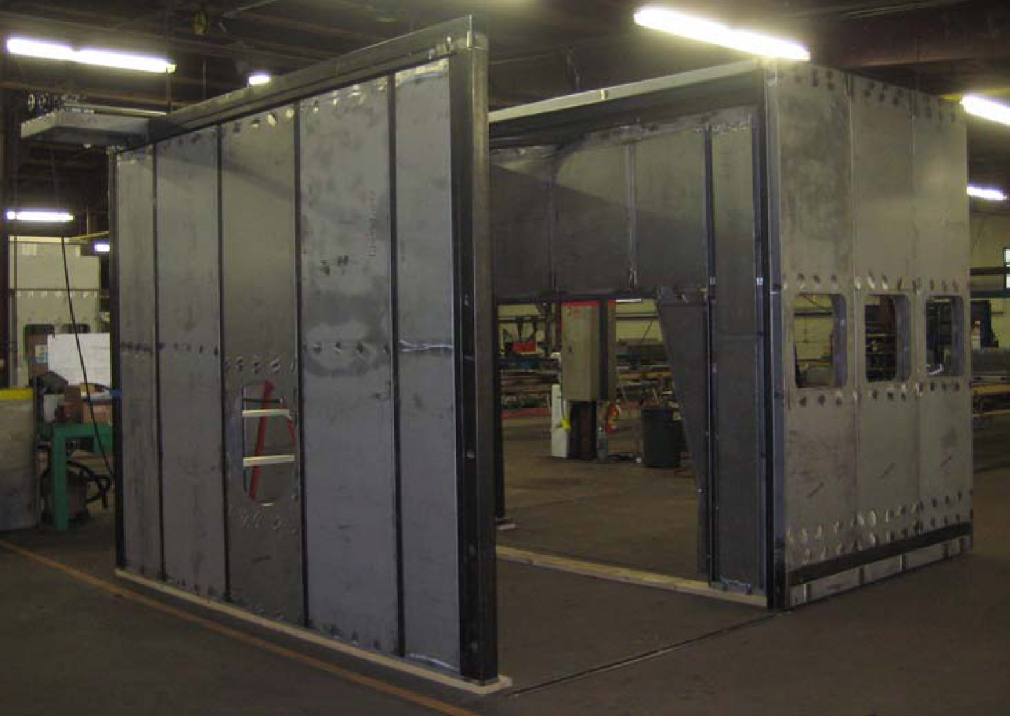 Automated Overhead Door & Custom Enclosures with Automation | Tamer Industries Pezcame.Com