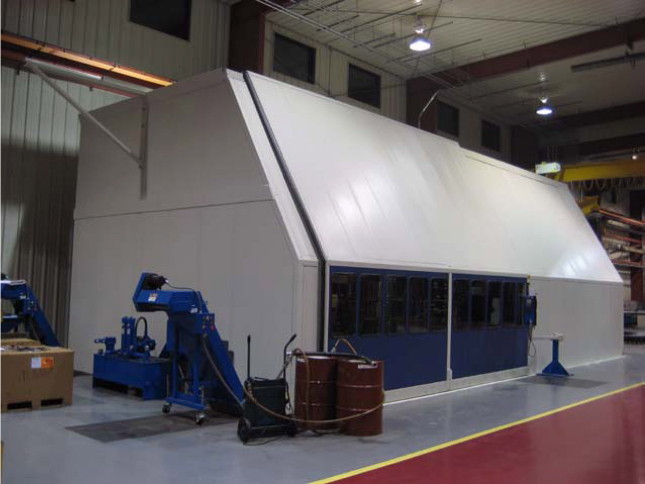 Overhead Crane Automation : Custom enclosures with automation tamer industries