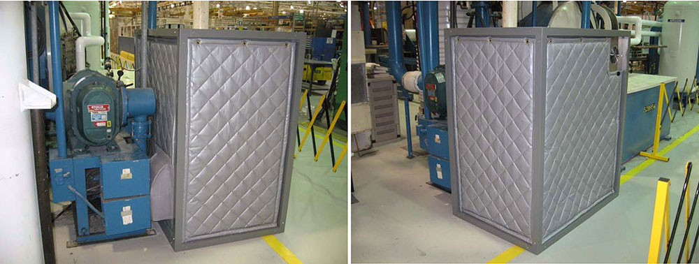 Frame Curtain Enclosure
