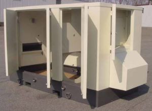Custom Enclosure Forklift-table Tamer Industries