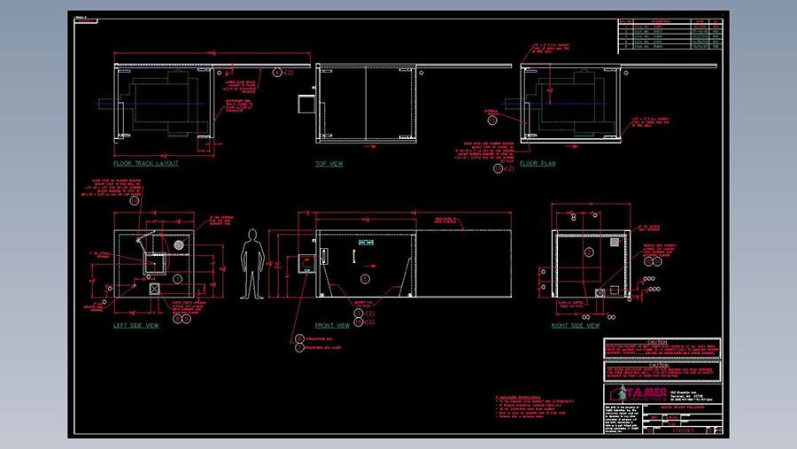 Wafios Nail Header, Diagram, Tamer Industries