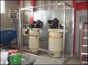 Reciprocating Compressors, noise reduction Tamer Industries